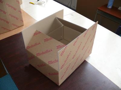 Krabice klopové